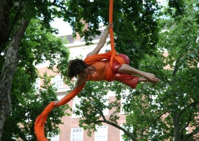 acrobats in portman sq