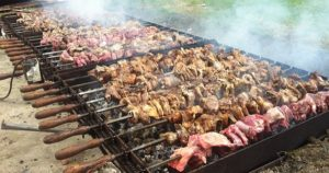meze BBQ in Troodos